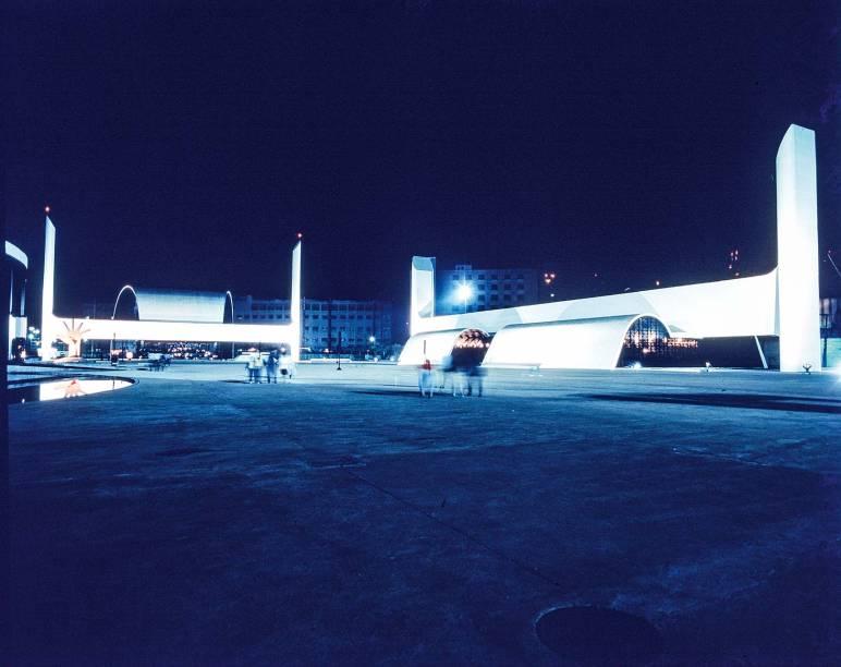 O Memorial da América Latina, que vai receber o primeiro projeto confirmado de drive-in na capital.