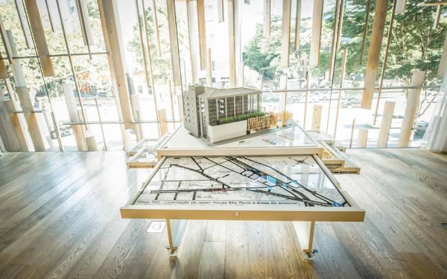 Maquete tátil na Japan House