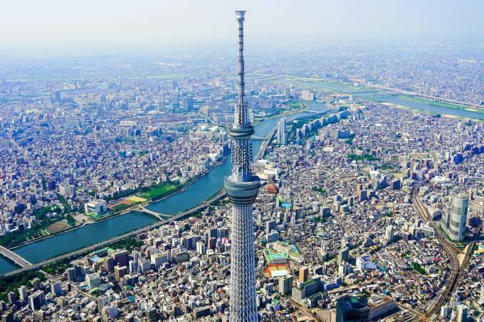 A cidade de Toquio