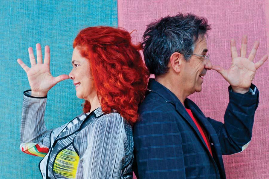 A dupla Palavra Cantada e o apresentador Daniel Warren participarão da programação
