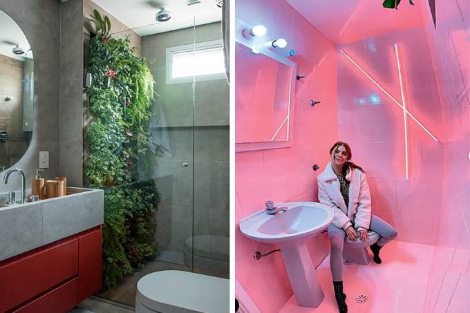 Casa Quarentener Banheiros