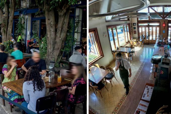 Retomada bares e restaurantes