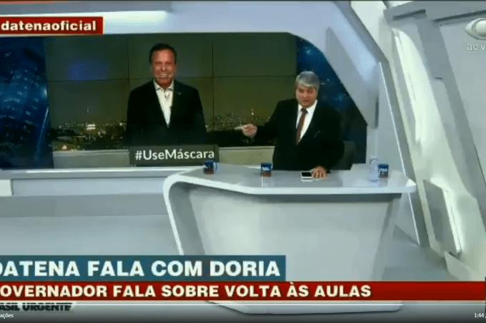 João Doria tira sarro de Bolsonaro por cloroquina a ema durante entrevista – VEJA São Paulo
