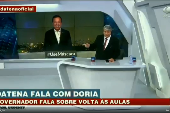 Joao Doria José Luiz Datena