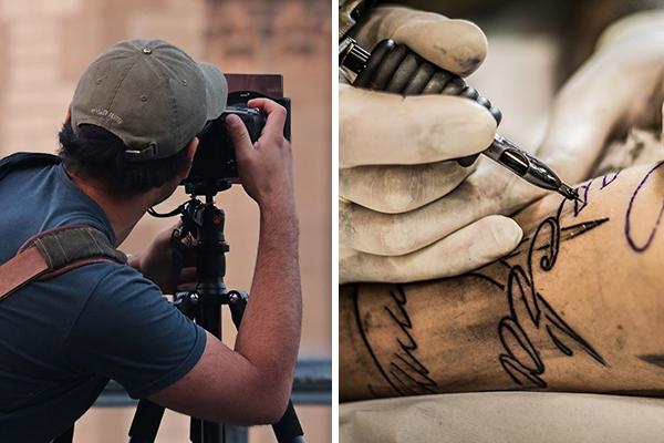 cinema tatuagem
