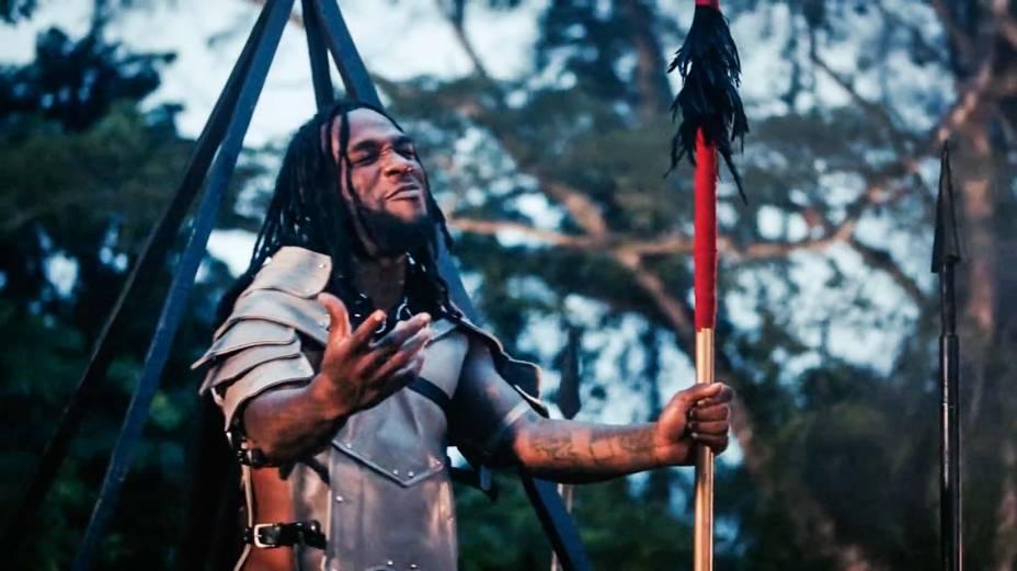 Trechos do clipe Wonderful, do músico nigeriano Burna Boy, sucesso no programa Djouba