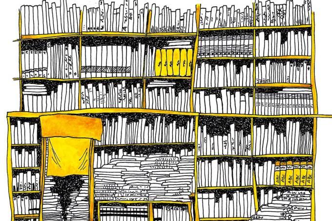 Livraria/estante/livros