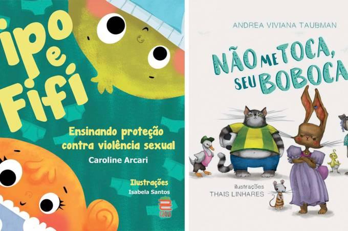 Livros abuso sexual infantil