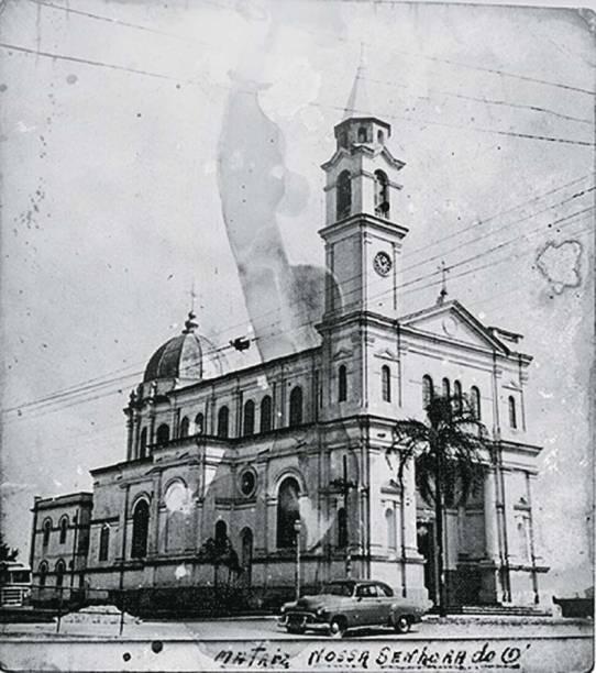 A igreja atual na década de 50