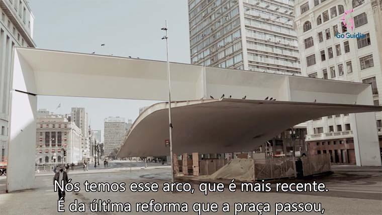 Cenas do tour virtual apresentado por Laércio Cardoso de Carvalho, 73 anos