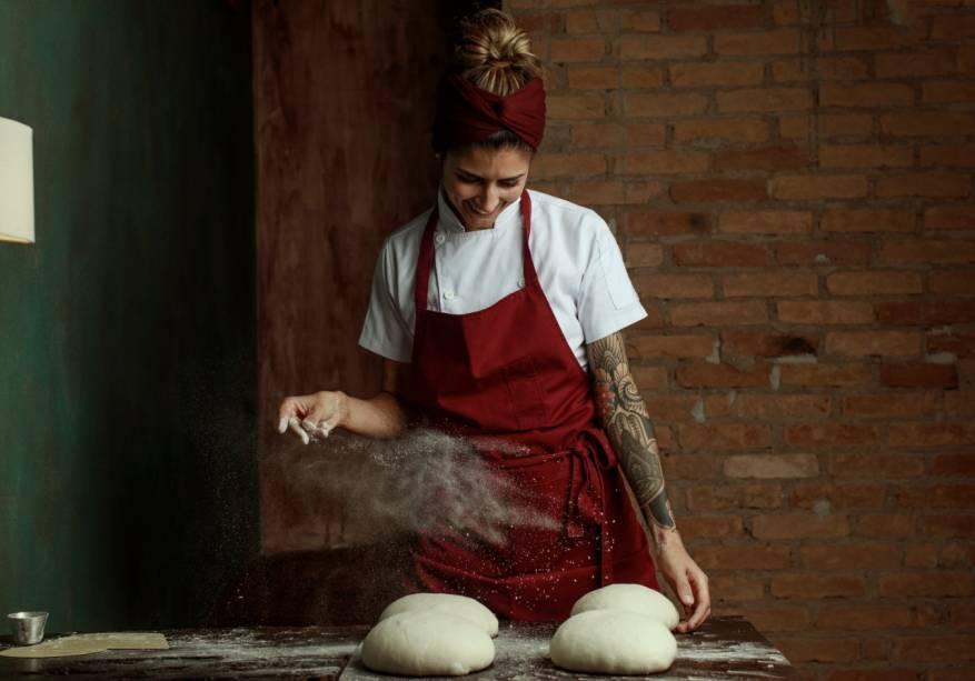 Nathalia Gonçalves: responsável pelos pães e doces