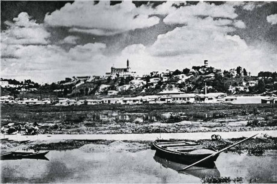 Foto de 1951 mostra a Freguesia vista do Tietê