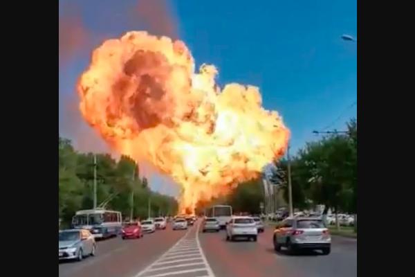 explosão russia