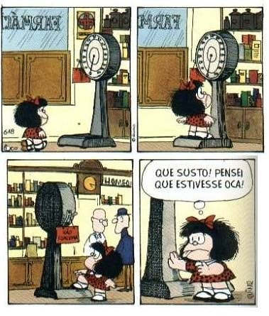 Reprodução/Facebook/ Tirinhas da Mafalda