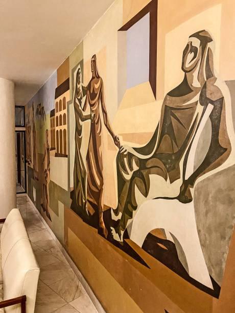 Murais de Clóvis Graciano, jardins de Lux e Stoll, cálculos de Kassoy e Franco, decoração de Maitrejean: escalação dos irmãos Helcer