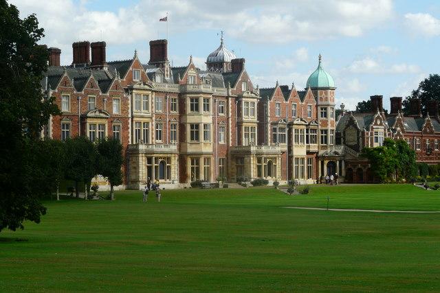 Sandringham House (Elwyn Thomas Roddick – Creative Commons)