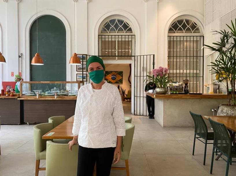 Morena Leite: chef baiana que comanda o Capim Santo