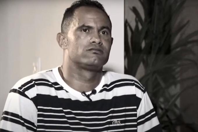 Goleiro Bruno em entrevista ao SBT