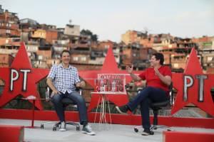 Fernando Haddad e Jilmar Tatto