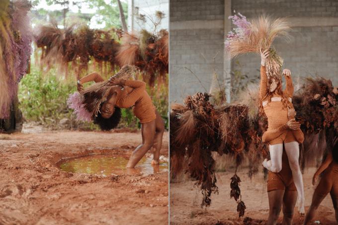 Muito movimento: coreografia foi uma celebração à natureza