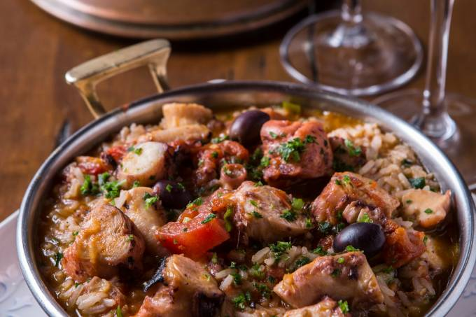 Arroz de polvo – Quinta de Santa Maria _ restaurantes/gastronomia
