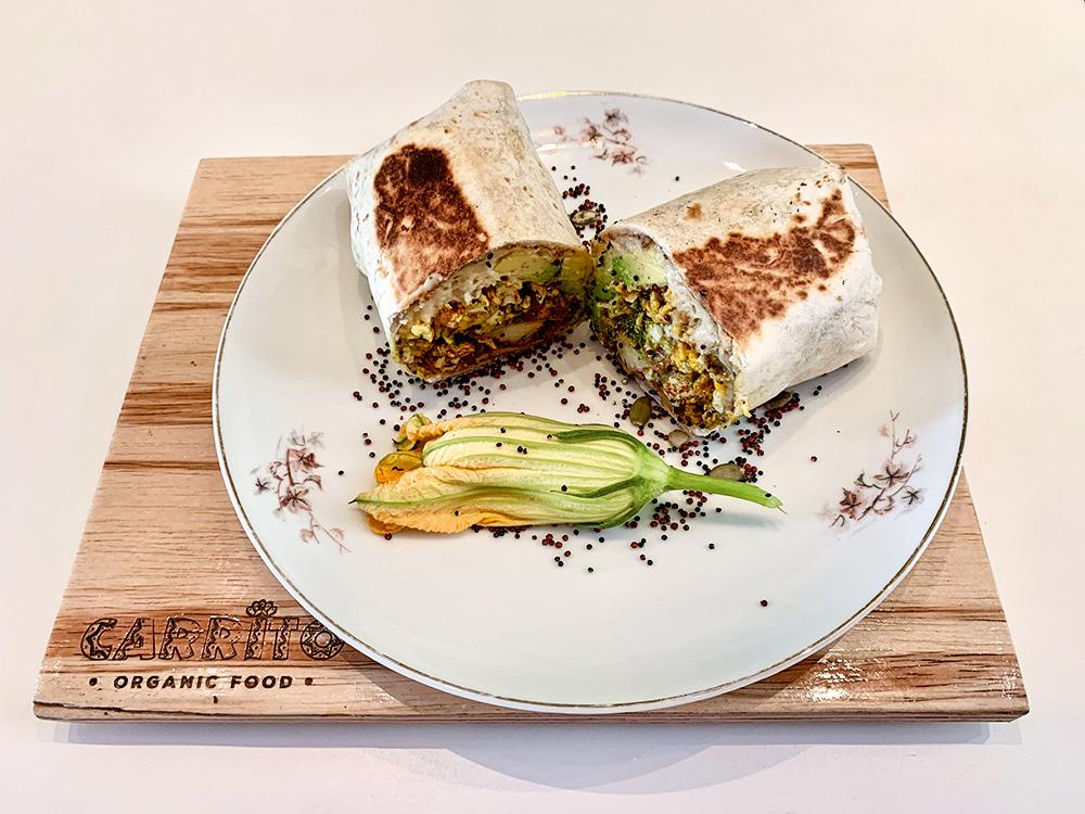 Burrito Breakfast Carrito Organic