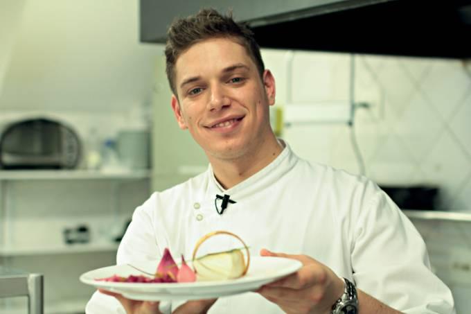 Rodolfo Santis, chef de cozinha.