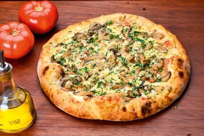 Pizza de Shiitake – Meime