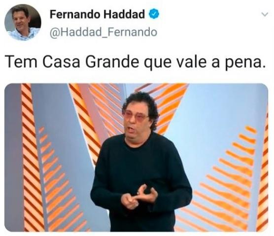 Postagem Haddad
