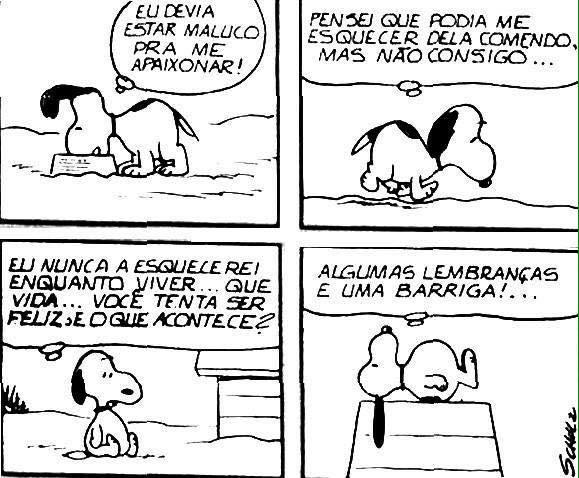 Snoopy - Tirinhas
