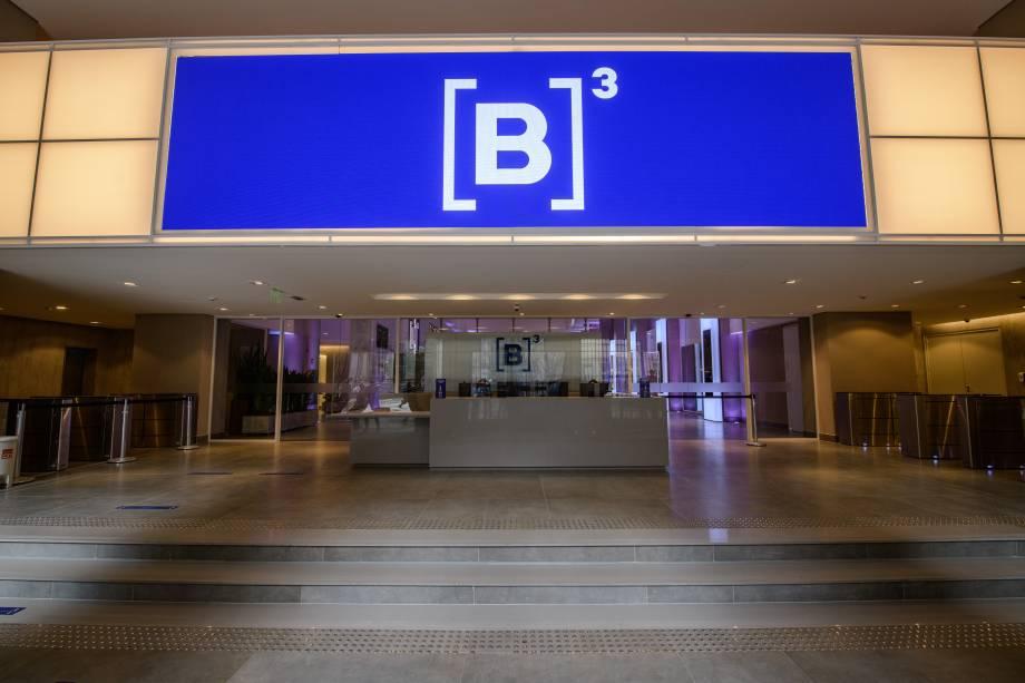 A B3 fica no prédio histórico da Bolsa, com acesso pelas ruas XV de Novembro, 275 e Álvares Penteado, 218.