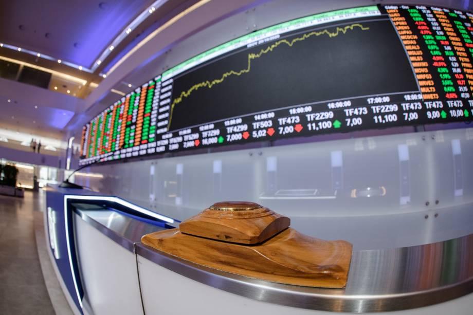 O tradicional painel de cotações da Bolsa está mais moderno e, de lá, as pessoas vão poder acompanhar as movimentações em real time do mercado