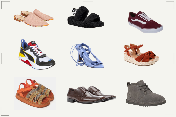 consumo sapatos