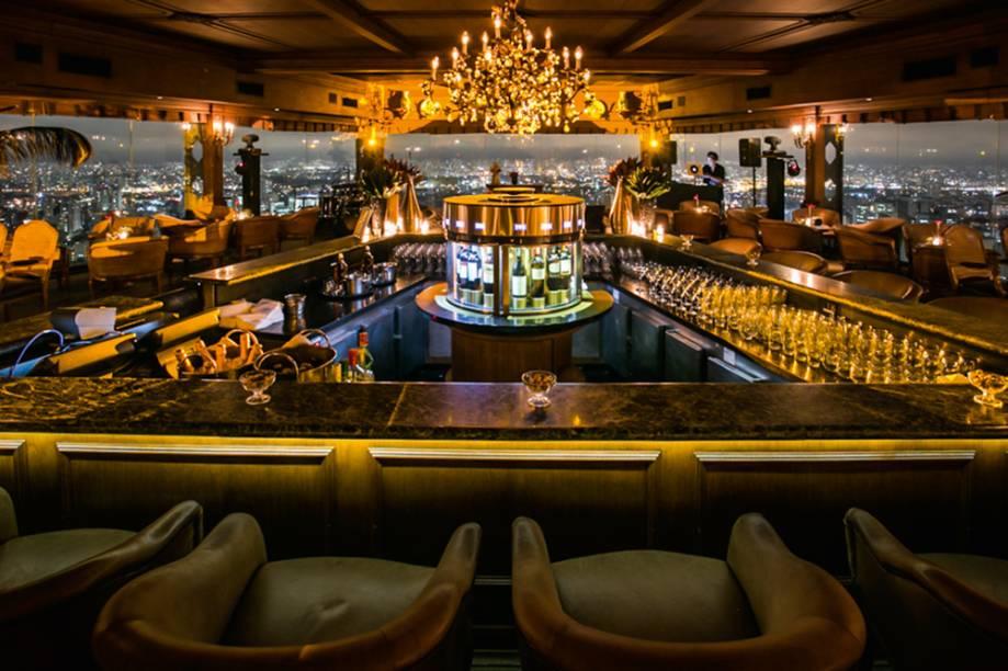 Bar com uma deslumbrante vista para São Paulo