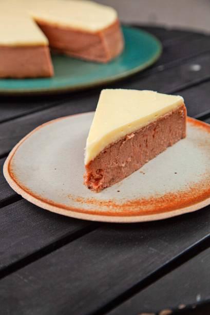 A textura da torta romeu e julieta é das mais delicadas