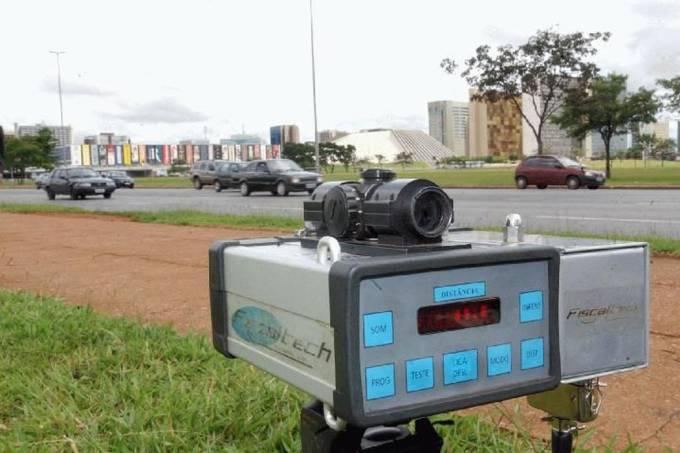 Radar de trânsito (Arquivo Agência Brasil)