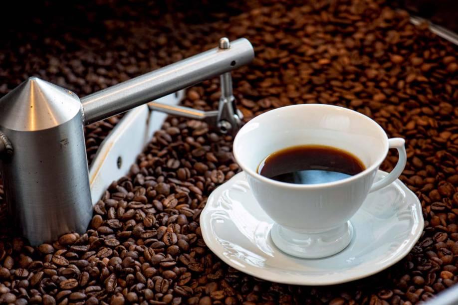 Café coado - Coffee Lab
