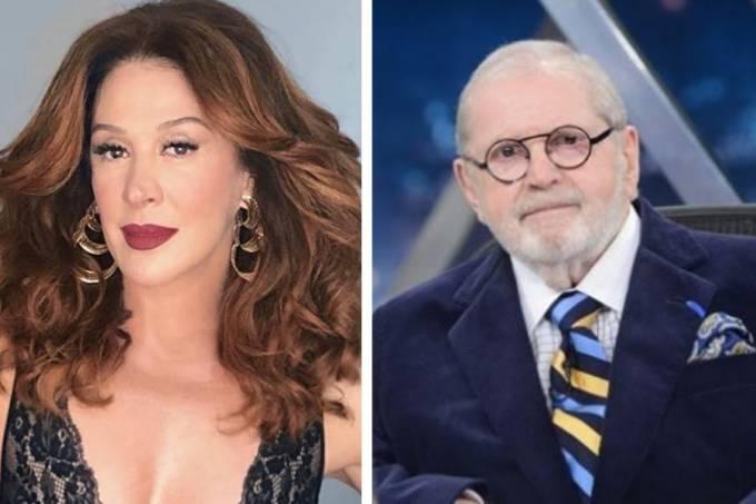 Claudia Raia e Jô Soares