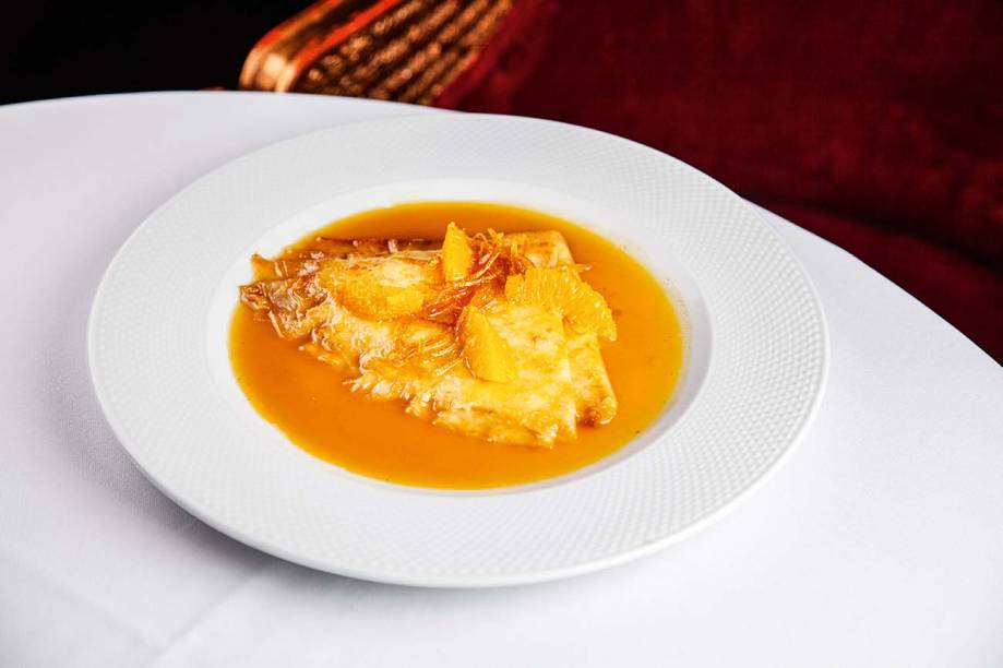O crepe suzette de Jacquin é o melhor da cidade