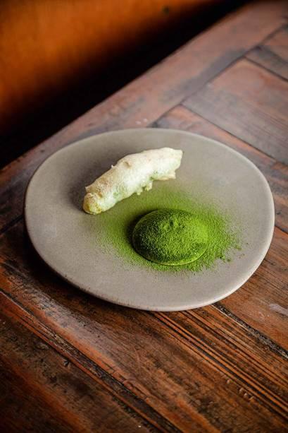 Empurá: quiabo e camarão
