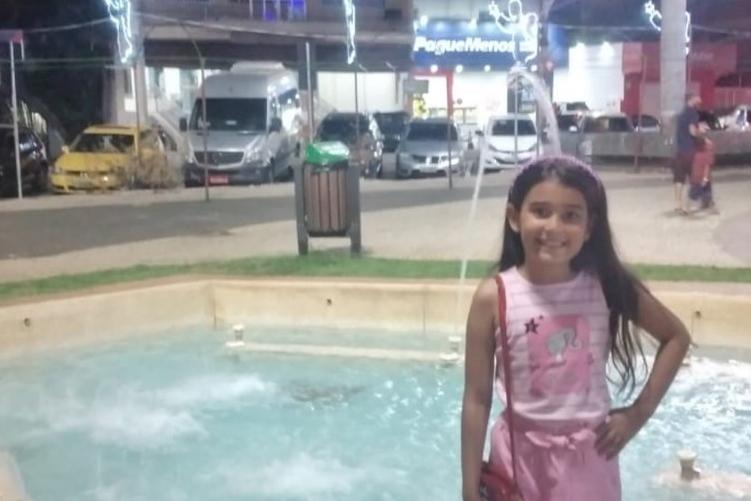 Foto tirada de Júlia antes do acidente