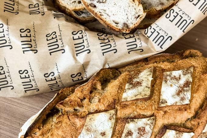 Pão rústico com nozes – Jules L' Art du Pain
