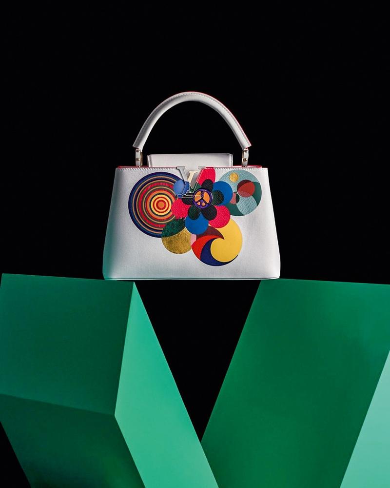 Bolsa Milhazes-Vuitton: a colaboração da artista com a marca Louis Vuitton é mais um capítulo de seu flerte com a moda. Ela também é amiga do estilista Christian Lacroix