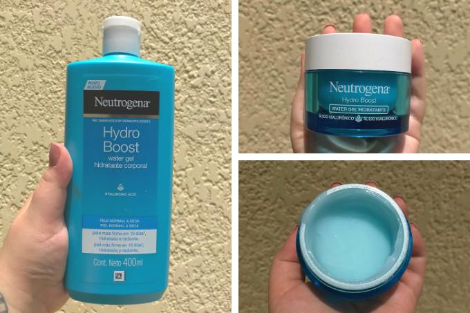 Cremes Hydro Boost da Neutrogena: para corpo e rosto