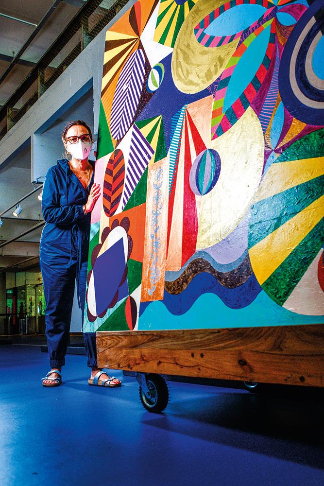 Beatriz Milhazes no Masp: megaexposição da artista ocorre também no Itaú Cultural