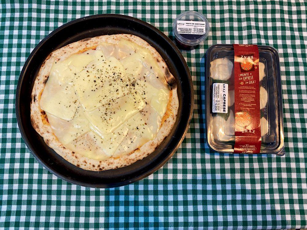 Bráz: pizzas desenvolvidas pelo Raffaele Mostaccioli
