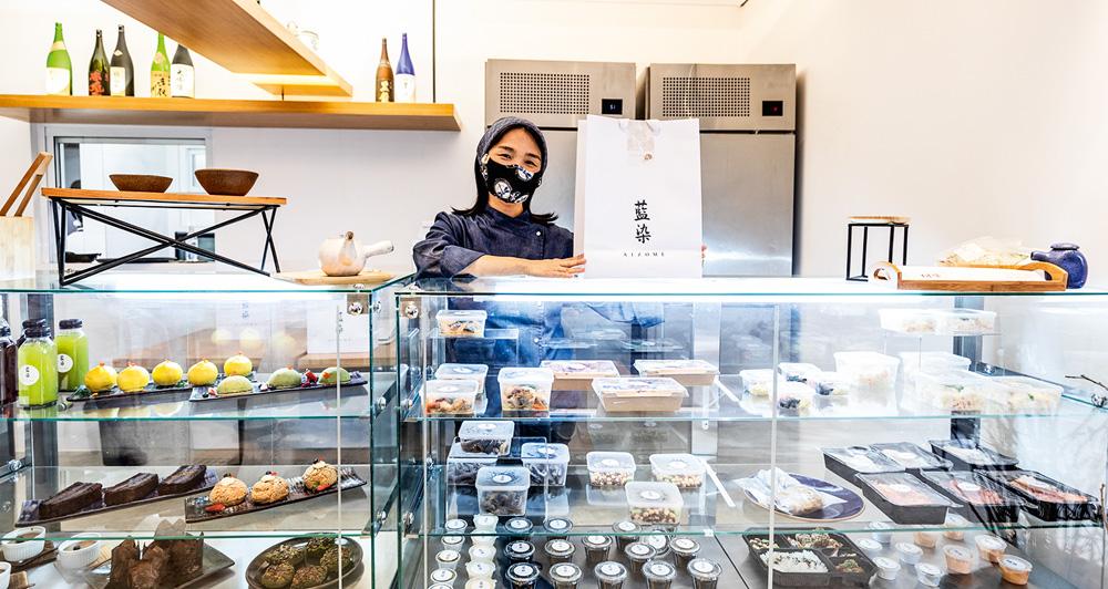 Chef Telma Shiraishi: na nova lojinha do Aizomê