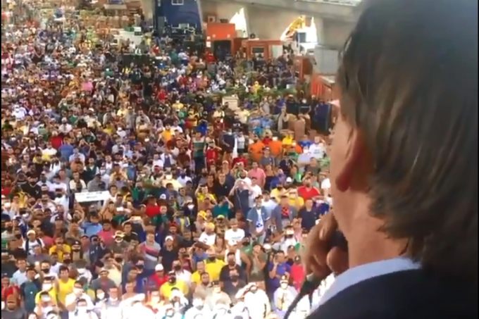 Bolsonaro no Ceagesp