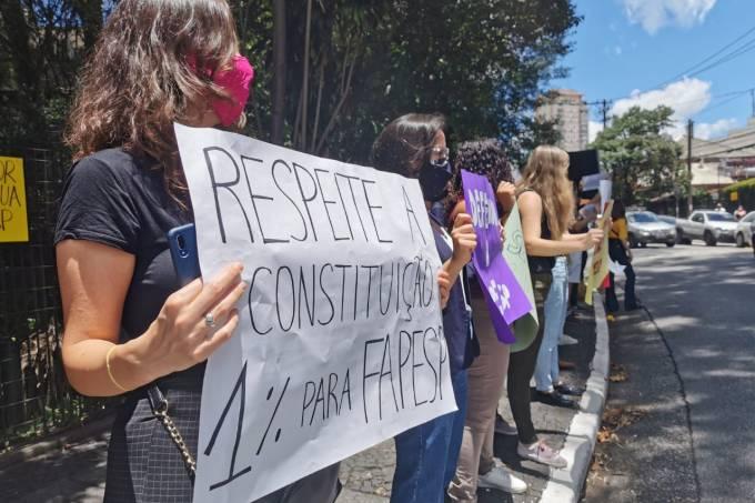 Fapesp protesto