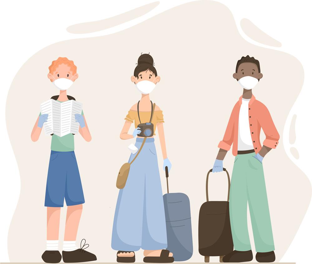 Viagem/Distanciamento Social/Pandemia/Coronavírus/Recepção